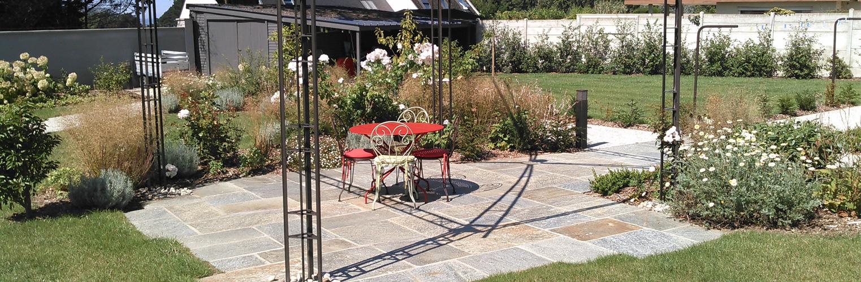 Création et entretien de jardins paysagers